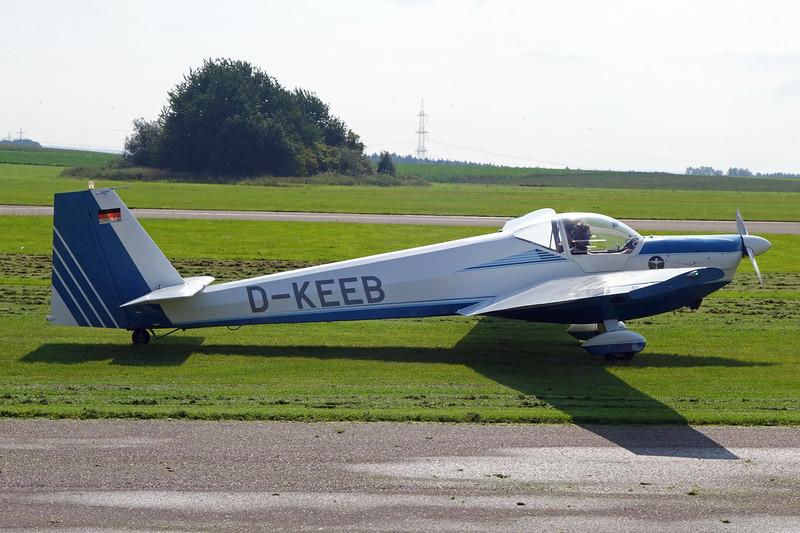 D-KEEB Scheibe SF-25C Rotax-Falke c/n 44535 Aachen/EDKA 12-09-15