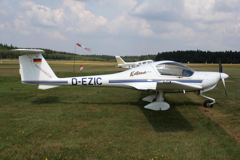 D-EZIC Diamond DA-20-A1 Katana c/n 10054 Spa-La Sauveniere/EBSP 05-08-06