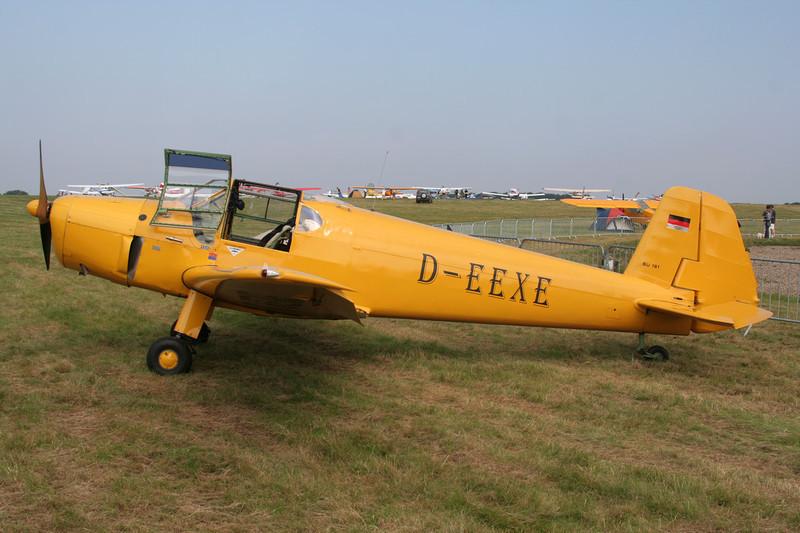 D-EEXE Heliopolis Gomhouria Mk.6 c/n 148 Schaffen-Diest/EBDT 12-08-07