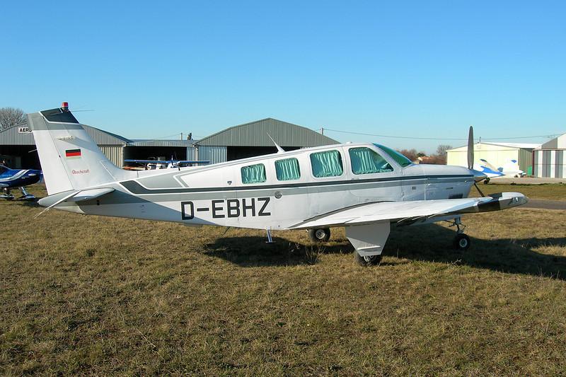 D-EBHZ Beech A36 Bonanza 36 c/n E-2717 Montpellier-Candillargues/LFNG 06-02-11