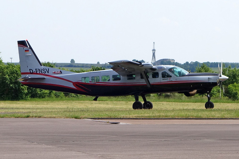 D-FNSV Cessna 208B Caravan c/n 208B-0731 Saarlouis/EDRJ 12-05-18