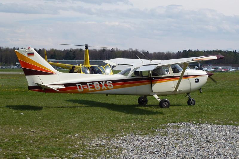D-EBXS Reims-Cessna F.172N c/n 1521 Friedrichshafen/EDNY/FDH 19-04-12