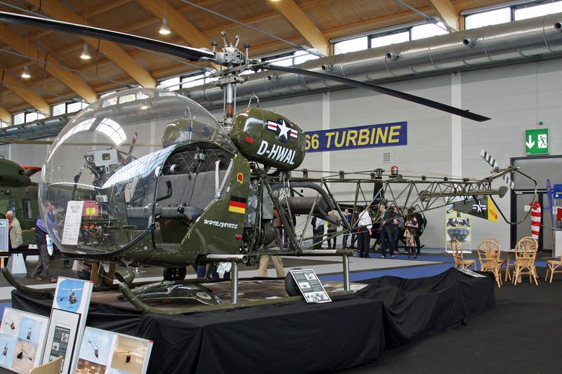 D-HWAL Agusta-Bell 47G-4A c/n 2519 Friedrichshafen/EDNY/FDH 19-04-12
