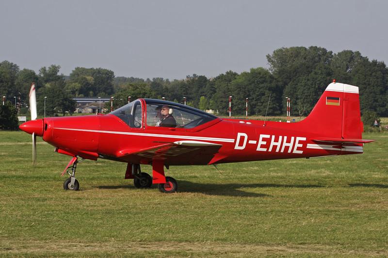 D-EHHE Aeromere F.8L Falco III c/n 227 Schaffen-Diest/EBDT 11-08-12