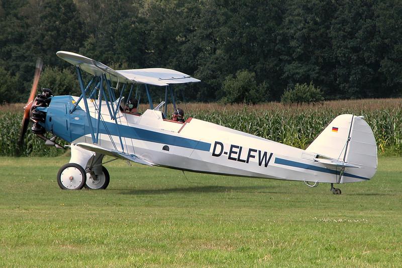 D-ELFW Focke-Wulf Fw-44 Stieglitz c/n ? Schaffen-Diest/EBDT 15-08-04