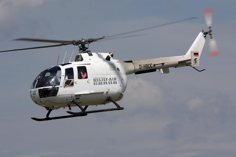 D-HBOC Bolkow BO.105CB-2 c/n S-325 Colmar/LFGA/CMR 22-06-08
