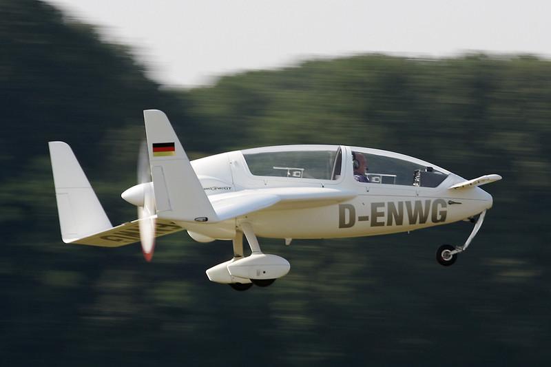 D-ENWG Gyroflug SC-01B-160 Speed Canard c/n S-40 Schaffen-Diest/EBDT 11-08-12