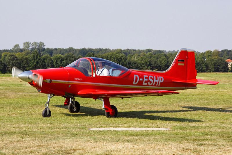 D-ESHP Aeromere F.8L Falco III c/n 205 Schaffen-Diest/EBDT 11-08-12