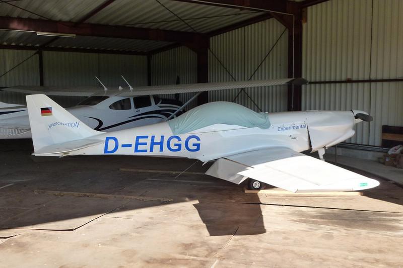 D-EHGG WD Flugzeugbau Fascination D4E c/n EB018 Nienburg-Holzbalge/EDXI 16-10-11