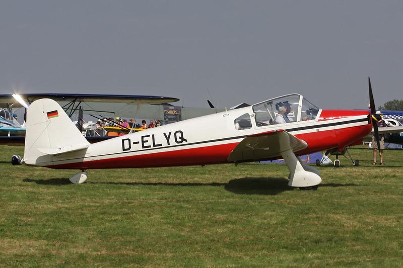 D-ELYQ Klemm Kl.107C c/n 152 Schaffen-Diest/EBDT 11-08-12