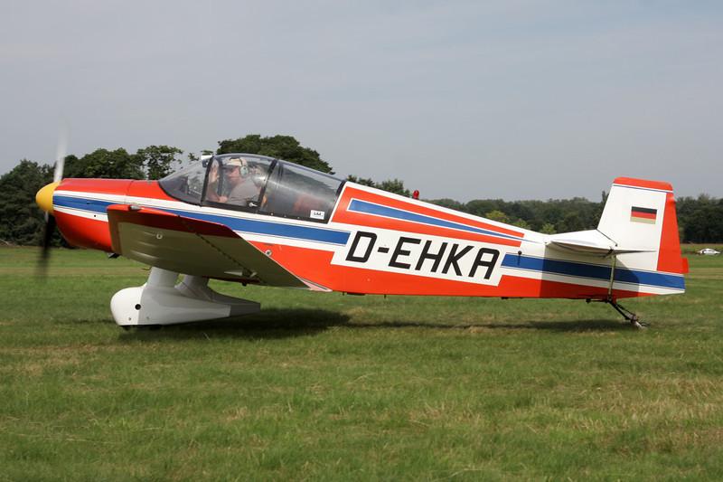 D-EHKA SAN Jodel DR.1050 c/n 476 Schaffen-Diest/EBDT 12-08-12