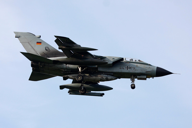 "44+79 BAe/Panavia Tornado IDS ""German Air Force"" c/n GS132 Kleine-Brogel/EBBL 23-10-12"