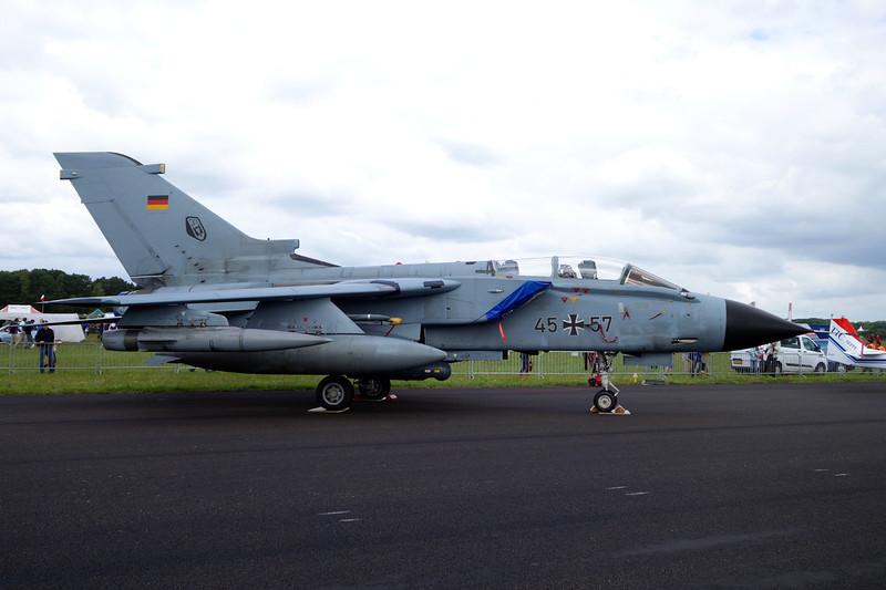 "45+57 BAE/Panavia Tornado IDS ""German Air Force"" c/n GS205 Gilze-Rijen/EHGR 20-06-14"