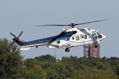 """82+03 Eurocopter AS.532US Cougar 2 """"German Air Force"""" c/n 2460 Berlin-Tegel/EDDT/TXL 22-08-18"""
