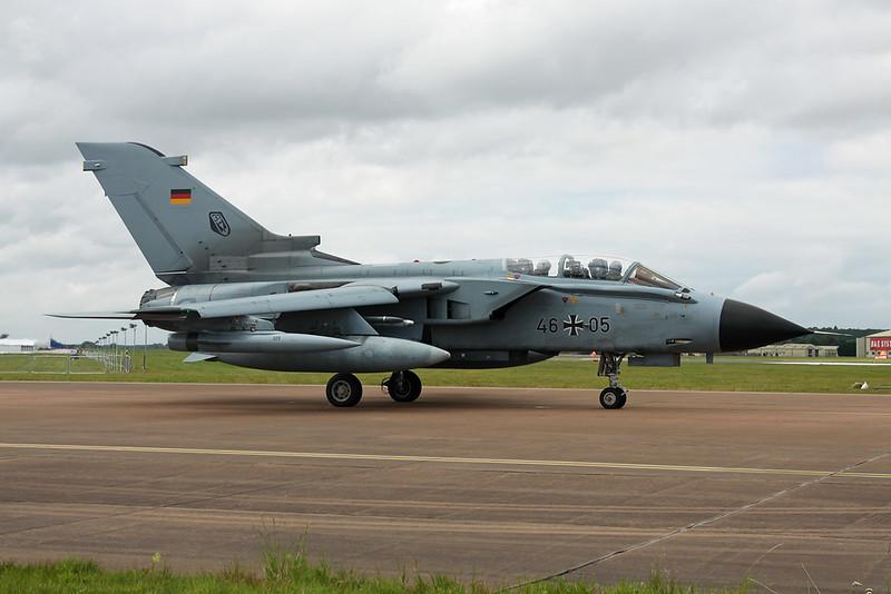 """46+05 BAe/Panavia Tornado IDS(T) """"German Air Force"""" c/n GT063 Fairford/EGVA/FFD 22-07-19"""
