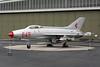 """645 Mikoyan-Gurevich MiG-21F-13 """"East German Air Force"""" c/n 74211924 Berlin-Gatow/EDBG/GWW 21-10-09"""