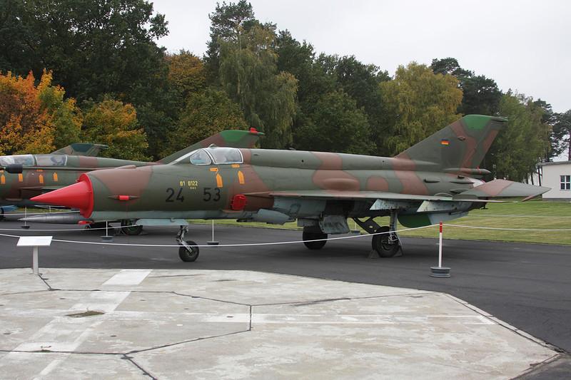 24+53 Mikoyan-Gurevich MiG-21 bis (German Air Force) c/n N75035841 Berlin-Gatow/EDBG/GWW 21-10-09