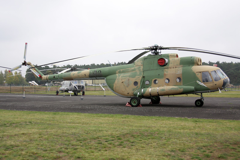 """93+01 (398) Mil Mi-8T """"German Air Force"""" c/n 031233 Berlin-Gatow/EDBG/GWW 21-10-09"""