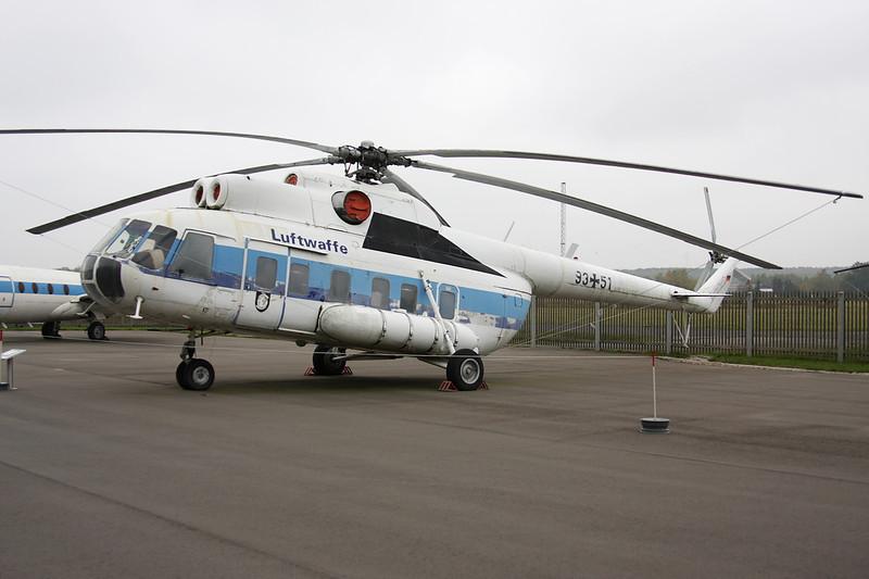"""93+51 Mil Mi-8S """"German Air Force"""" c/n 105104 Berlin-Gatow/EDBG/GWW 21-10-09"""