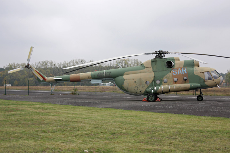 "93+14 (927) Mil Mi-8T ""East German Air Force"" c/n 10543 Berlin-Gatow/EDBG/GWW 21-10-09"