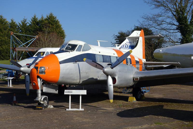 D-IFSB de Havilland DH-104 Dove 6 c/n 04379 London Colney 09-03-14