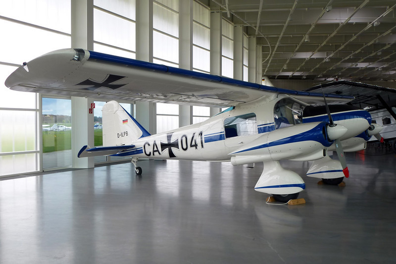 D-ILPB (CA+041) Dornier Do.28A-1 c/n 3015 Friedrichshafen/EDNY/FDH 20-04-12