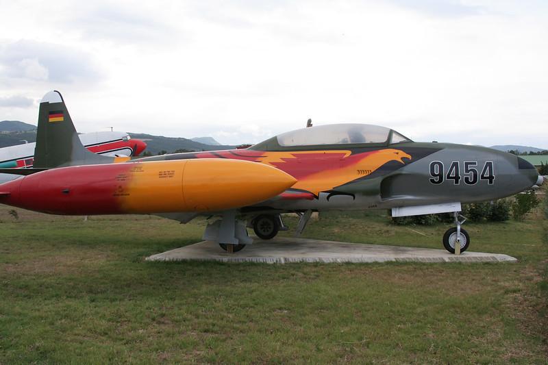 "94+54 (9454) Lockheed T-33A Shooting Star ""German Air Force"" c/n 580-9117 Montelimar/LFLQ/XMR 20-07-07"