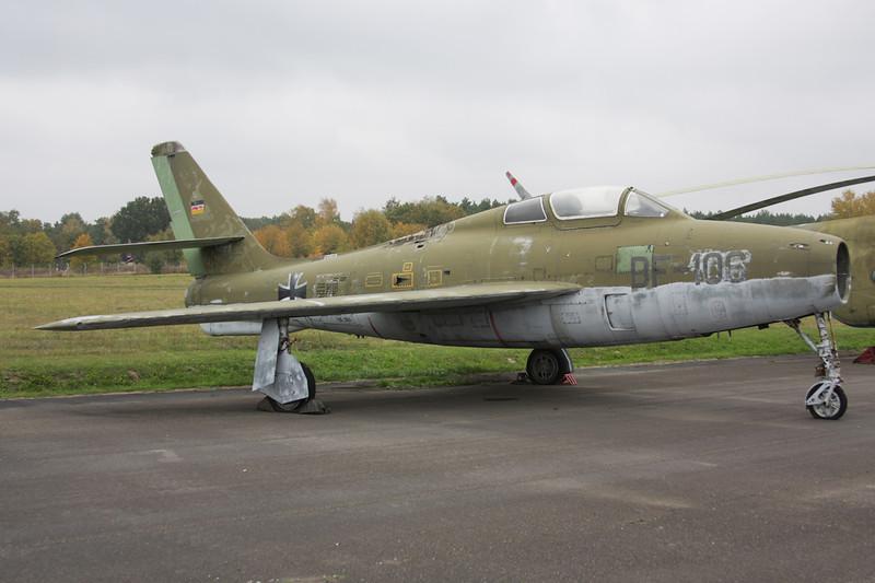 """BF+106 Republic F-84F Thunderstreak """"German Air Force"""" c/n 52-6804 Berlin-Gatow/EDBG/GWW 21-10-09"""