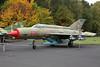 """686 Mikoyan-Gurevich MiG-21MF """"East German Air Force"""" c/n 966301 Berlin-Gatow/EDBG/GWW 21-10-09"""