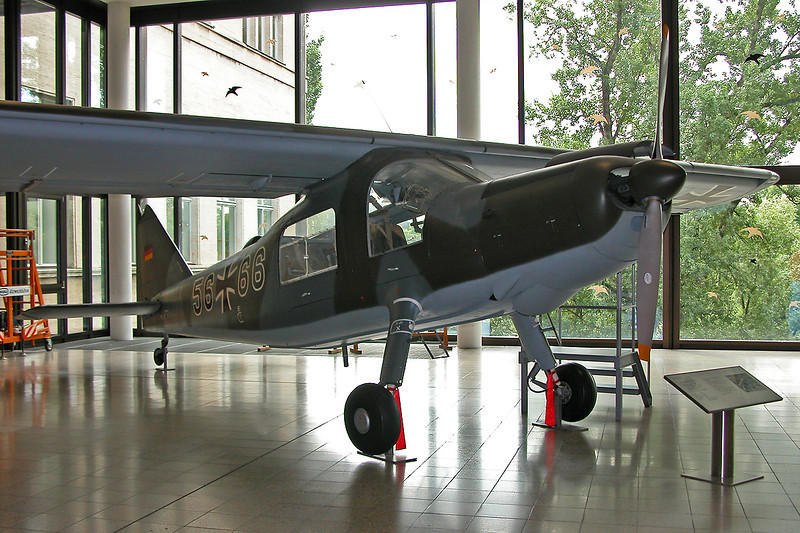 "56+66 Dornier Do.27B-1 ""Luftwaffe"" c/n 360 Deutsches Museum/Munich 12-07-05"