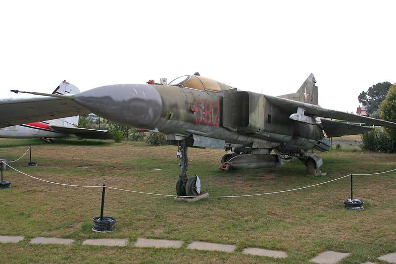 20+03 (582) Mikoyan-Gurevich MiG-23MF c/n 0390213097 Montelimar/LFLQ/XMR 20-07-07