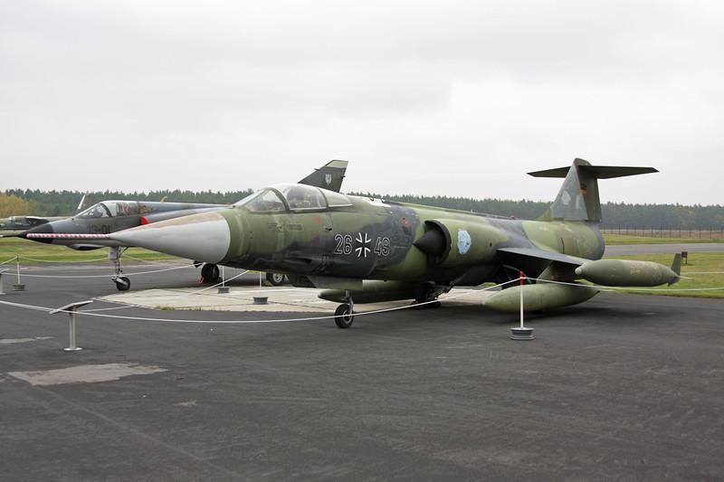 """26+49 Lockheed F-104G Starfighter """"German Air Force"""" c/n 683-7309 Berlin-Gatow/EDBG/GWW 21-10-09"""