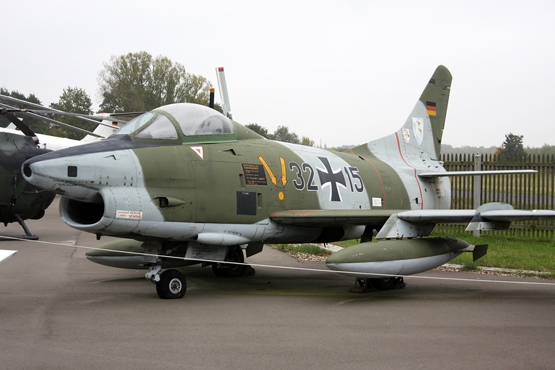 """32+15 Fiat G-91R/3 """"German Air Force"""" c/n 483 Berlin-Gatow/EDBG/GWW 21-10-09"""