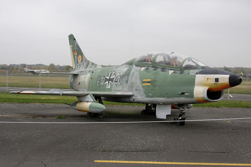"""99+41 Fiat G-91T3 """"German Air Force"""" c/n 0027 Berlin-Gatow/EDBG/GWW 21-10-09"""