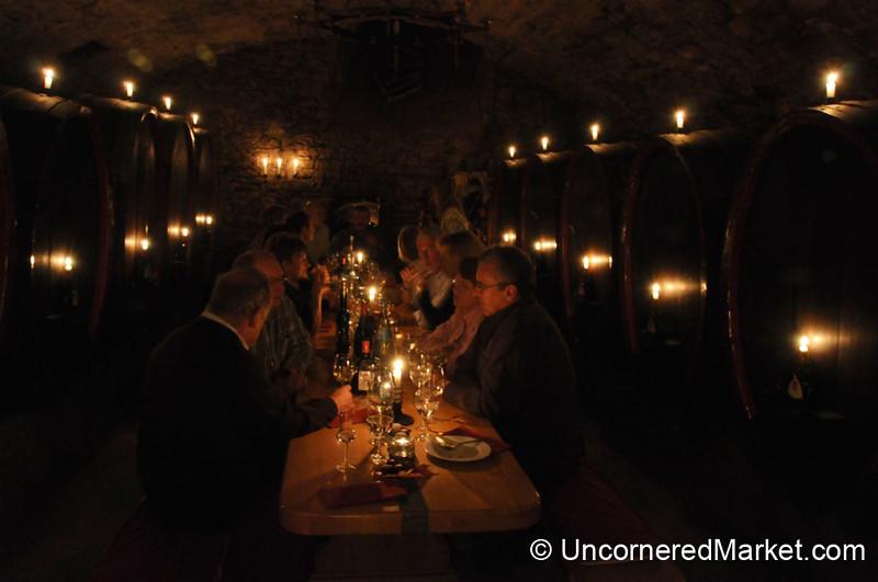 Candlelight Dinner at Bickel-Stumpf Winery - Frickenhausen, Germany
