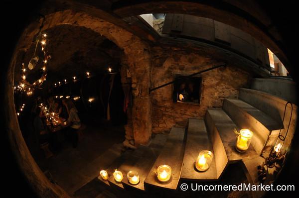 Romantic Cellar at Bickel-Stumpf winery - Frickenhausen, Germany