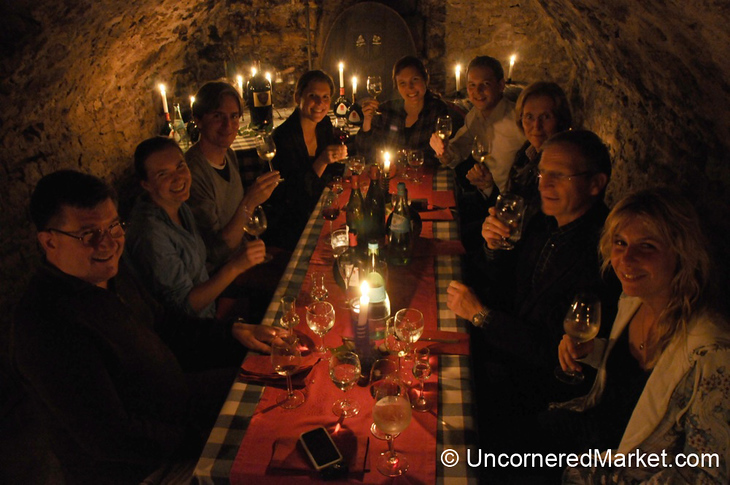 A Lovely Dinner at Bickel-Stumpf Winery - Frickenhausen in Bavaria, Germany