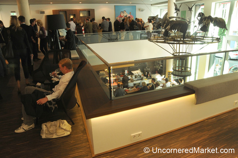 Tasting Areas at me Collectors Room in Berlin, Germany