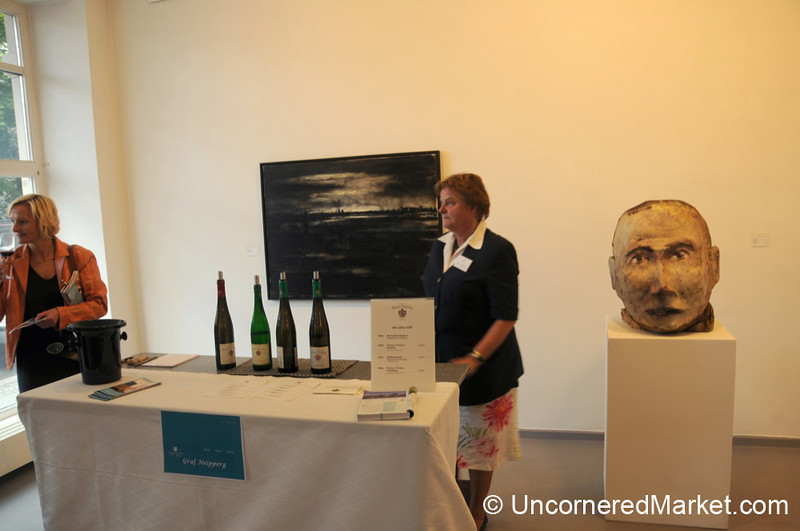 Wine Tasting at Galerie Berlin - VDP's 100th Anniversary Event