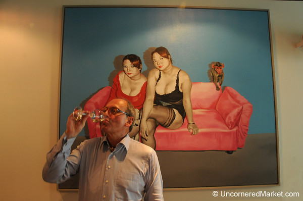 Traditional German Wine and Contemporary Art Mix in Berlin