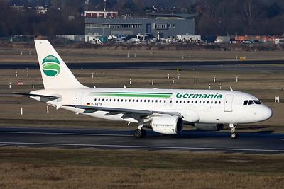 D-ASTR Airbus A319-112 c/n 3950 Dusseldorf/EDDL/DUS 19-01-17