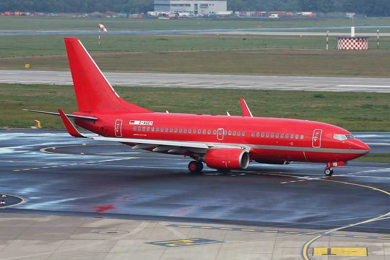 """D-AGEY Boeing 737-7L9 """"Germania"""" c/n 28013 Dusseldorf/EDDL/DUS 09-09-13"""