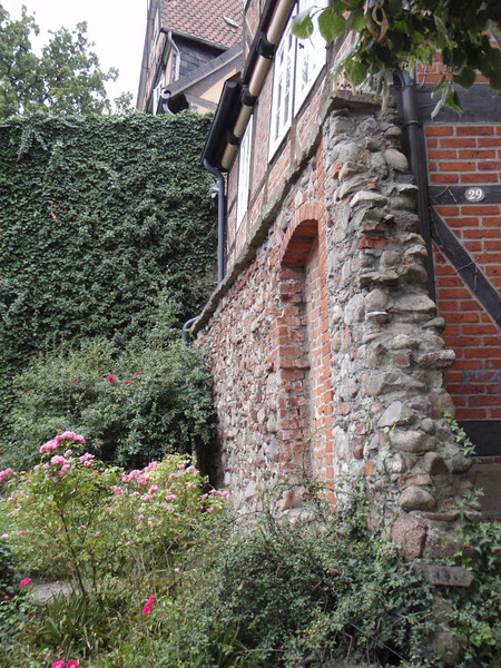 The remnants of the old wall at Celle.