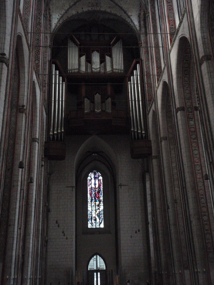 The inside of a Lubeck Cathedral