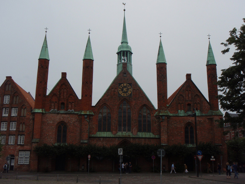 The hospital in Lubeck - it daes to the 13th century.