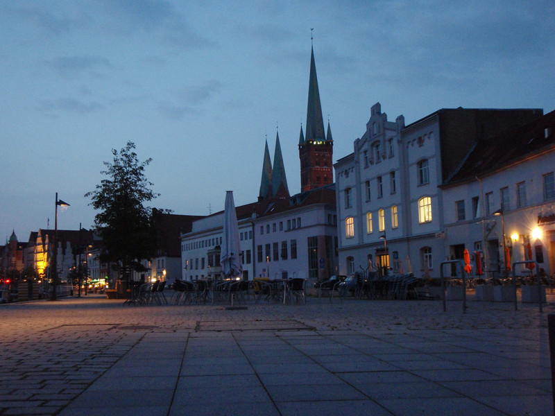 Lubeck's waterfront