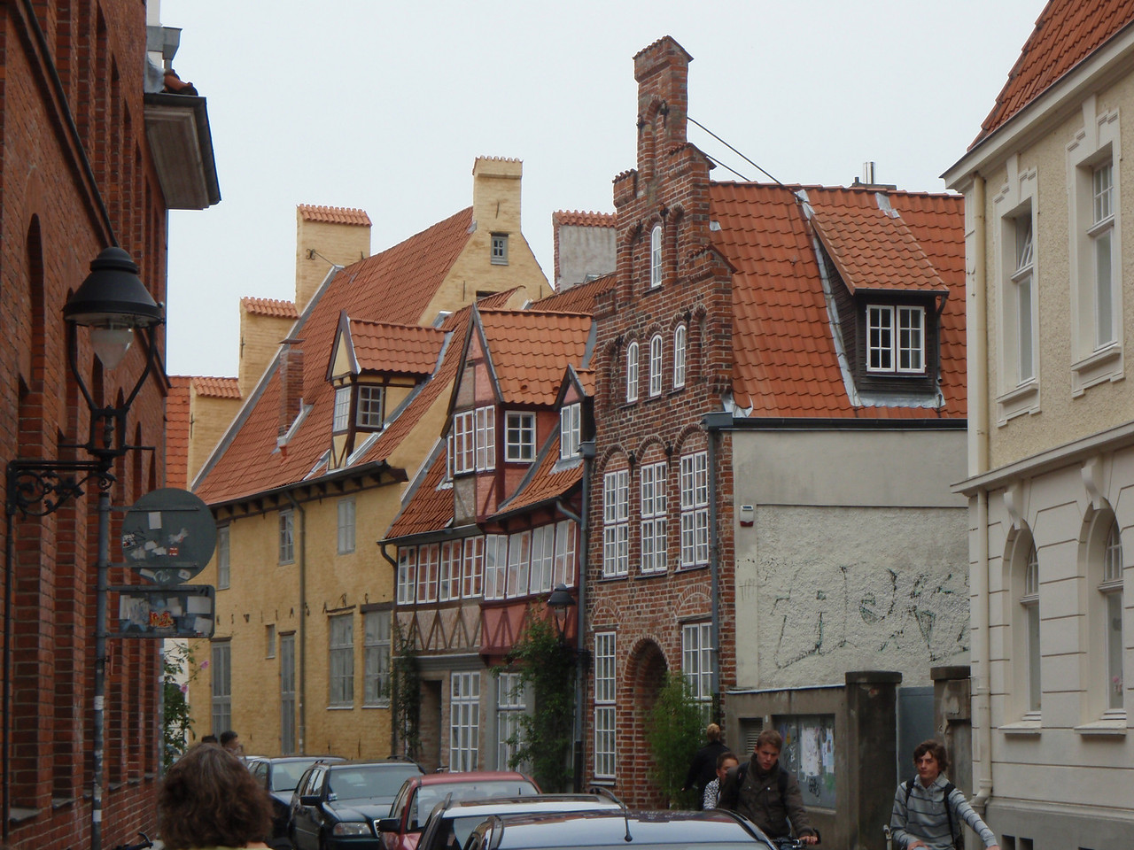 Hansa architecture in Lubeck