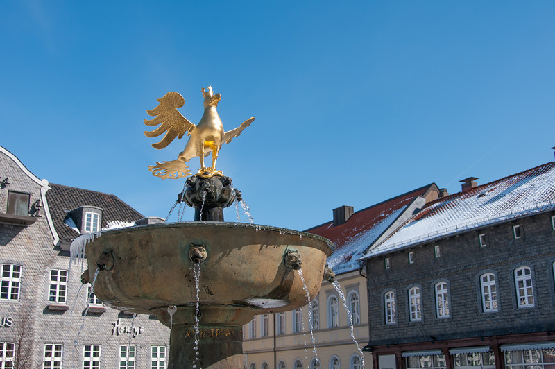 The Market Fountain in Goslar, Germany