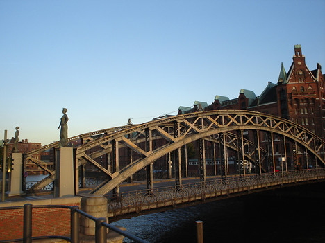 Brooks Bridge, Hamburg - Germany