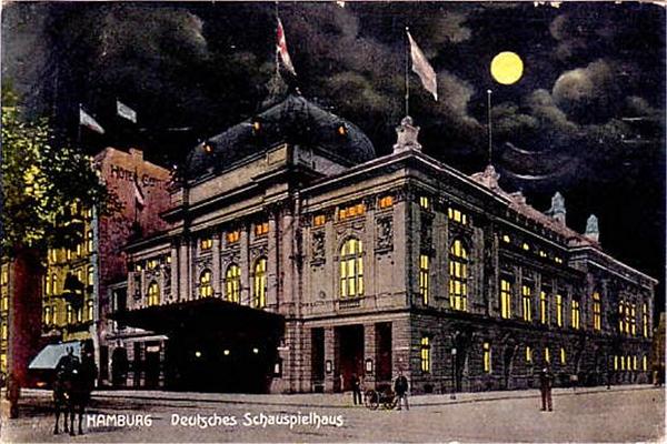 Deutsches Schauspielhaus.